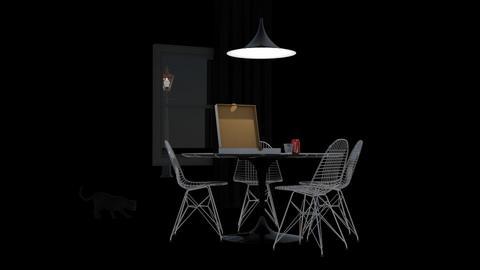 Late night snack - Minimal - Dining room  - by HenkRetro1960