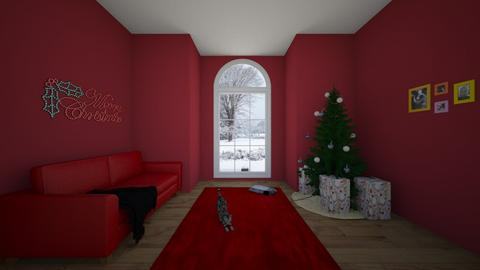 White Christmas - Living room  - by srmagi