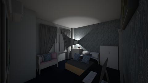 Phong Ngu Final one - Modern - Bedroom  - by vminh06