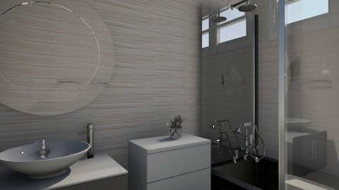 simple - Minimal - Bathroom - by lih_lih