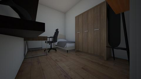 Room_1 - Minimal - Bedroom  - by dravesen