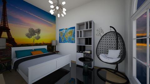 Travel room - Bedroom  - by AlphaWolfLil