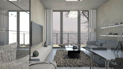 CL 2 - Living room  - by RonRon