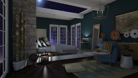 stone cold distance - Bedroom  - by Tatjana113