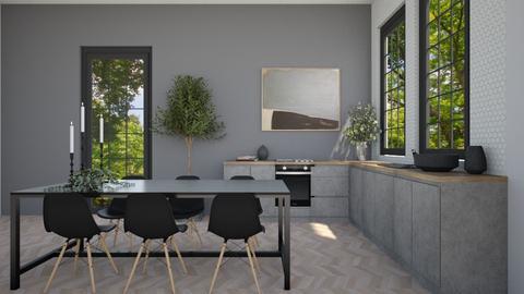 kitchen black - by Marlisa Jansen