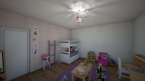 boernevaerelse - Kids room  - by julemandergrim34
