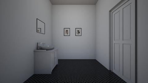 half bathroom - Bathroom - by nathalyhaviar