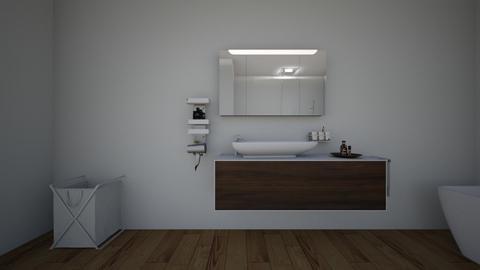 nicole laeno - Bathroom  - by wandi2007