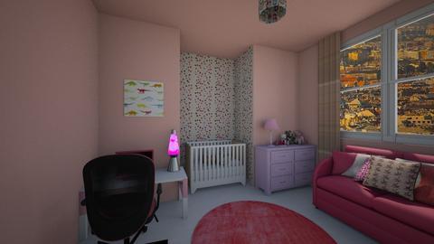 girl room - Modern - Kids room  - by nina57012
