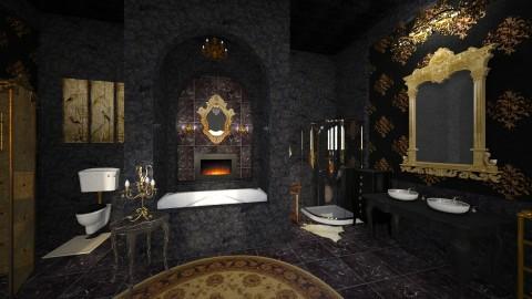 Black Marble - Classic - Bathroom  - by Pirschjaeger