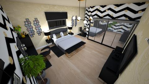 family home 135 - Modern - Bedroom  - by Stavroula Chatzina