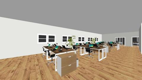 Andrew Office - Modern - by johndavepaclar