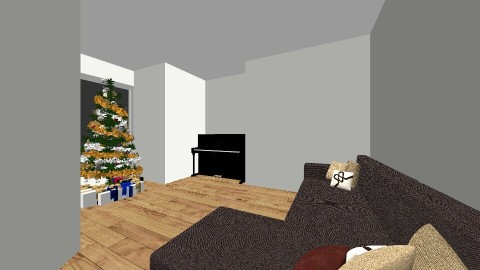 Christmas livingroom - Living room - by Izzysmith