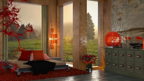 Morning - Bedroom  - by ZsuzsannaCs