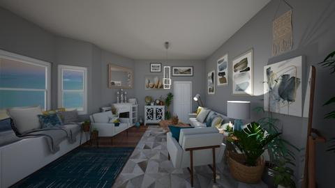 Beach Zone - Living room - by Jodie Scalf