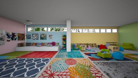 Museum - Modern - Kids room  - by annacecchini