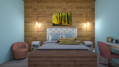 Cozy yet modern - Bedroom - by kyramargarete19