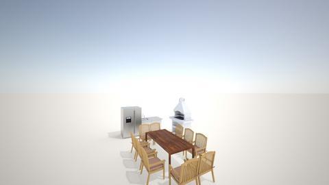 Letna kuhinja - Kitchen  - by bopres
