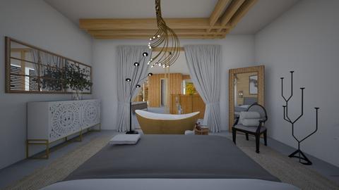 Zen_main bedroom2 - Bedroom  - by lovasemoke