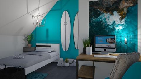 that surfer guy  - Bathroom  - by ash04