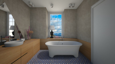 Fjord Bath - Modern - Bathroom  - by 3rdfloor