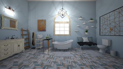 dh bathroom - Bathroom - by meredithcrummey
