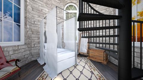 Enchanted Tower - Bedroom  - by SammyJPili