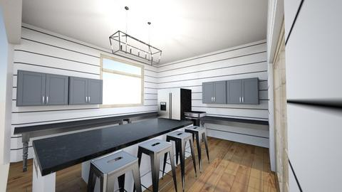 Brooke vertical lines - Kitchen  - by brookewoodhouse