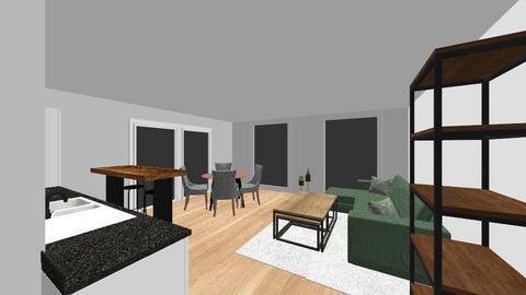Omega 1 - Living room  - by Roosstyler