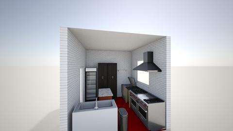 cocina - Kitchen  - by tacorod