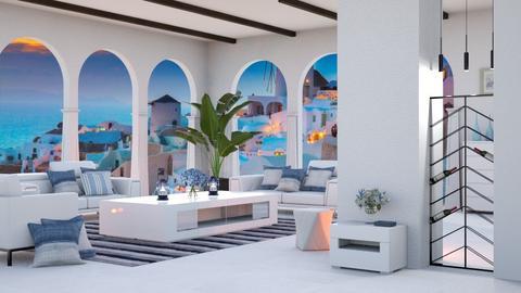greek - Living room  - by snjeskasmjeska