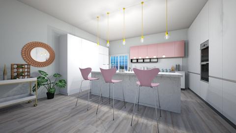Glam kitchen - Glamour - Kitchen  - by fastswimgirl