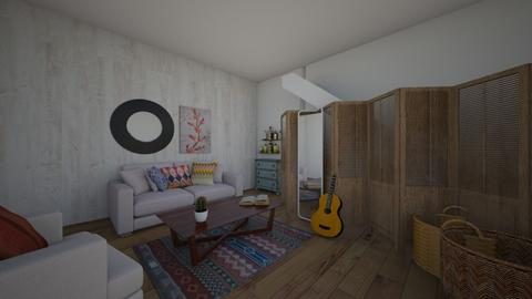 mess  - Living room  - by Hippie_11