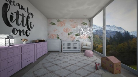 pink nursery - by Kylie Gallant