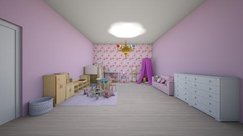 Girls bedroom - Bedroom  - by Mila dimitrova