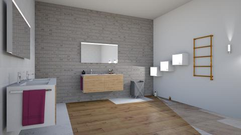 la maison de Lily - Glamour - Bathroom - by 582008