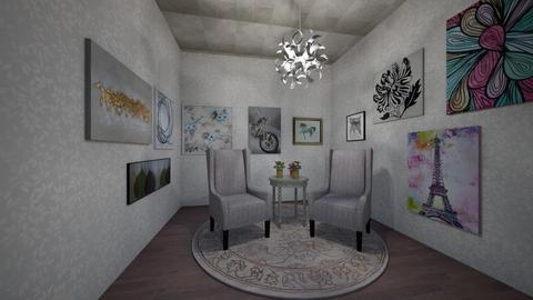 Talk Show Set - Minimal - Office  - by Abby_Druery