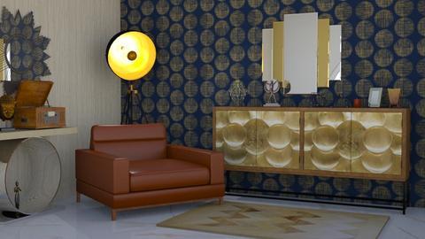 art deco - Living room  - by Karen Priest