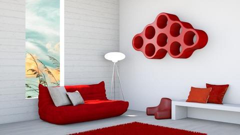 Togo Red - Modern - by designkitty31