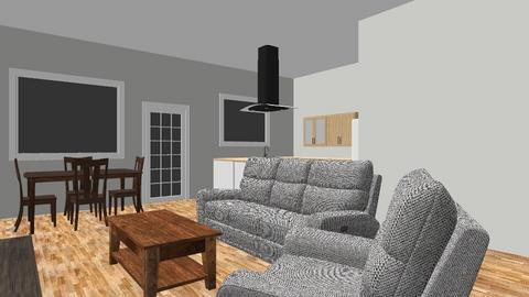 obyvak_kk - Living room  - by AgentKrtek