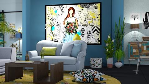 02032018 - Country - Living room  - by matina1976