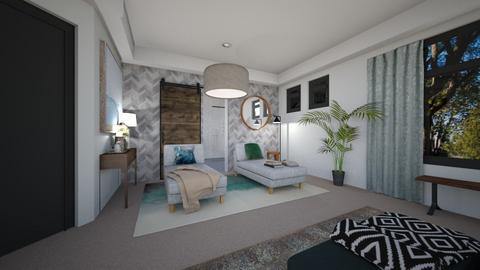 Rypien 1 - Living room  - by louisdhe