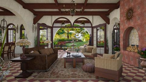 Design 366 Santa Barbara Living - Living room  - by Daisy320