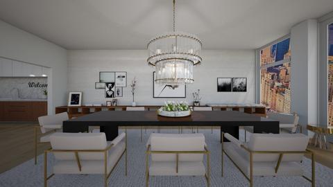 157 EAST - Dining room - by flacazarataca_1