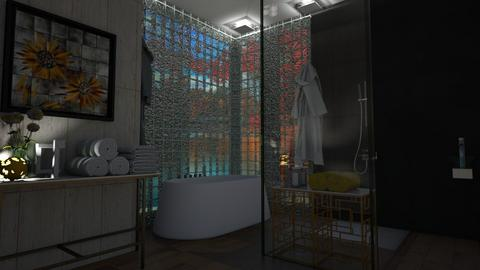 bath - Modern - Bathroom  - by vallequeen