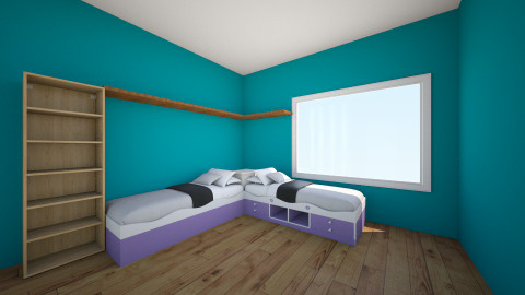 Laura Puryear 2 - Kids room - by Hanna E