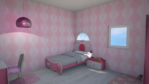 princess room - Kids room  - by flowerpandafox