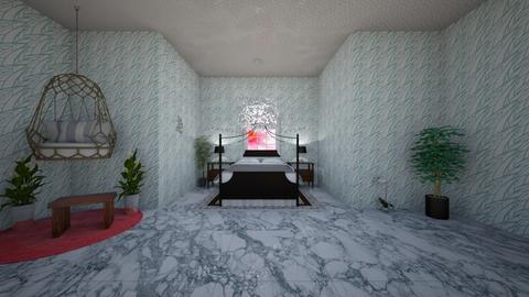 White bed room - Modern - Bedroom  - by coco fox