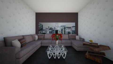 living area - Living room - by shivani dobhal