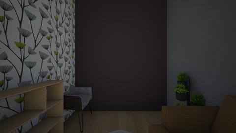 salon - Classic - Living room  - by klaudiiia